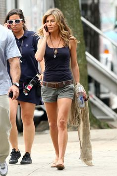 Jennifer Aniston.. I pretty much like everything she wears. And I want this outfit for Summer. (minus the nip-on) by Ирина Дубровская