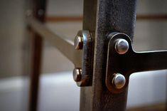 Industrial Bar Stool in Steel