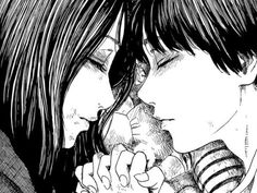 Image discovered by Find images and videos about anime, manga and happiness on We Heart It - the app to get lost in what you love. Japanese Horror, Japanese Art, Aesthetic Art, Aesthetic Anime, Junji Ito, Gothic Anime, Manga Girl, Anime Love, Art Sketches