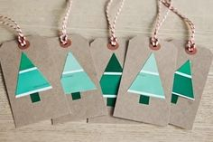 Gift tag #christmas #decor #holidays #diy #design #gift #christmas tree #gifts