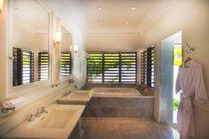 Lovely Bathroom at Bougainvillea House