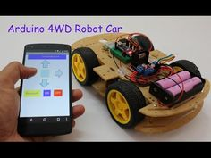 Smartphone Controlled Arduino 4WD Robot Car ( Part - II ) - YouTube