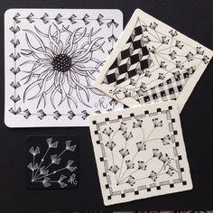 Mein Tangle Muster WINFLO ! Lass' es wachsen !                            The tangle pattern WINFLO ! Let it grow ! - zentangledichgluecklichs Webseite!