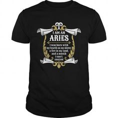 Awesome Tee Aries zodiac sign tshirt for who was born in was born in march or april T-Shirts