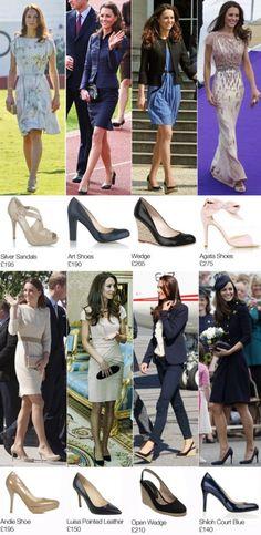 theduchesscambridge:  Kate's shoes