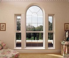 uPVC windows and double glazing in York Selby Harrogate, Yorkshire Arched Windows, Large Windows, Windows And Doors, House Gate Design, Modern House Design, Bedroom Windows, Formal Living Rooms, Window Design, Great Rooms
