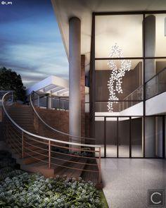 O pendente DNA Quattro dos Designers Hopf & Wortmann ganha merecido destaque em pé direito triplo deste sofisticado Lobby que compõe o Projeto Geometria. Projeto de Interiores Claudia Albertini & Chris Silveira Arquitetos @c_arq @chrissilveiraarquiteta @claudia_r_albertini