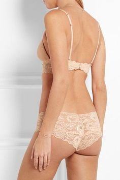 c47fe6a933 Cosabella - Never Say Never Soire Lace-trimmed Mesh Soft-cup Bra - Neutral