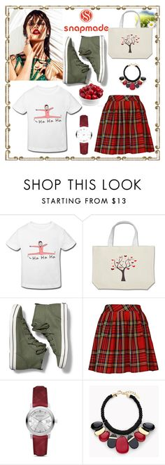 """SNAPMADE #4-IV"" by nizaba-haskic ❤ liked on Polyvore featuring Keds, Burberry and Chico's"