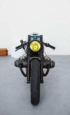 Visit The MACHINE Shop Café... ❤ Best of Bikes @ MACHINE ❤ (Retro BMW R80 Café Racer Motorcycle by Diamond Atelier)