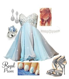 """Royal Prom #7"" by briony-jae ❤ liked on Polyvore"