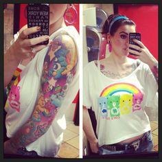Care bear tattoo. WA