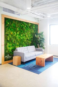 Pin by planted design on moss walls by planted design in 2019 Design Exterior, Interior Design Tips, Interior Decorating, Moss Wall Art, Moss Art, Indoor Farming, Garden Wall Designs, Inside Plants, Office Wall Decor