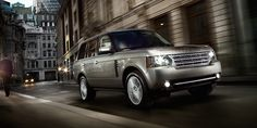 Land Rover Range Rover. These things will go nearly anywhere.
