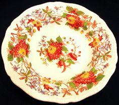Copeland Spode's Aster Large Rimmed Soup Bowl by JuleesTreasures, $54.00