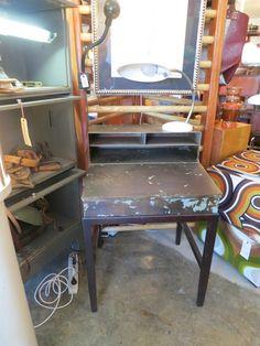 Amazing Flip-Top Metal Desk