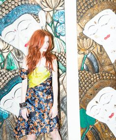 Jane and Judy Aldridge for the Outnet x The Coveteur