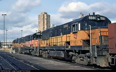 RailPictures.Net Photo: MILW 5501 Chicago, Milwaukee, St. Paul & Pacific GE U25B at Minneapolis, Minnesota by Tom Farence