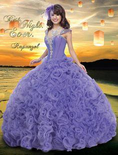 Our Rapunzel Gown 41009 Disney Royal Ball Quinceanera. #Rapunzel #41009 #Disney #Quinceanera