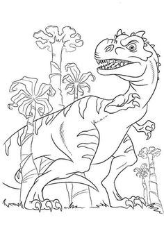 Free Dinosaur Train Coloring Pages Printable. Dinosaur Train, a cheerful and dynamic series, punctuated by rock tracks, is aimed at children aged 3 to fans o Train Coloring Pages, Spring Coloring Pages, Preschool Coloring Pages, Coloring Pages For Boys, Cartoon Coloring Pages, Animal Coloring Pages, Coloring Pages To Print, Coloring Pictures For Kids, Dinosaur Coloring Sheets