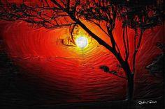 Sunset Elizabeth Barros Pinturas