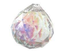 28mm Lilac Alexandrite Glass STAR PRISM ORNAMENT SUNCATCHER NEW