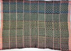 Weaver's Study Group Twill Gamp | Weaving Fabrications
