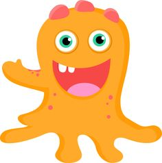 CH.B *✿* De Minus Little Monster Party, Monster Inc Party, Monster Birthday Parties, Cartoon Monsters, Cute Monsters, Little Monsters, Doodle Monster, Monster Theme Classroom, Monster Clipart