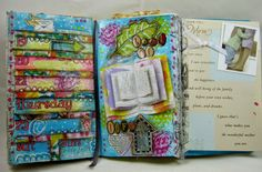 Check out one of our fantastic viewers/pinner's projects!  @Dawn's Craft Place   Dawns Craft Place: Documented Life Week 21 Planner Page