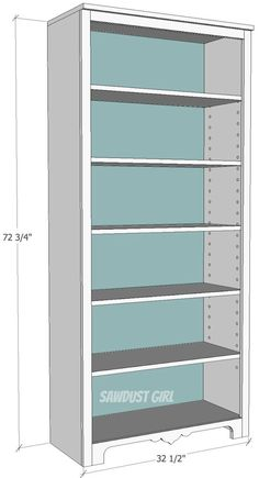 1000 ideas about bookcase plans on pinterest bookshelf. Black Bedroom Furniture Sets. Home Design Ideas