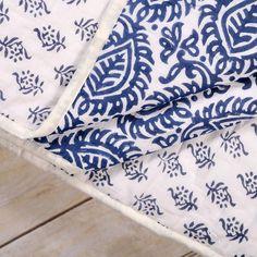 Naya Block Print Quilt - Kalyana Textiles