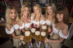 100 Sexiest Dirndl Girls in Oktoberfest History - Beautiful women Oktoberfest Outfit, Oktoberfest History, Munich Oktoberfest, Octoberfest Girls, Beer Maiden, Beer Girl, German Women, German Girls, German Beer