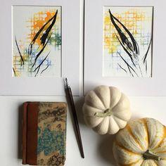 Fall inspiration feather watercolor paintings.  www.taniarodamilans.com @taniarodamilans
