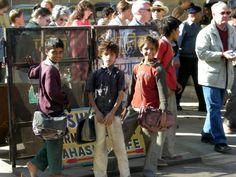 Children in street, Jaiselmer, Rajasthan