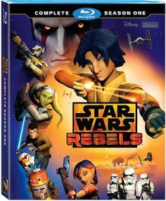 New Age Mama: Star Wars Rebels: Complete Season One Now on Blu-ray