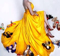 Every thing here makes me thrilled, Dress, Shoes and the color is the most. Turkish Fashion, Turkish Beauty, Girl Photos, Blackpink Photos, African Prom Dresses, Elcin Sangu, Movies And Series, Stylish Girl Pic, Cute Couple Pictures