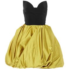 Oscar de la Renta Strapless Sweetheart Full Skirt Dress ($4,690) ❤ liked on Polyvore featuring dresses, beige dress, shirred dress, strapless dresses, ruched dress and strapless ruched dress
