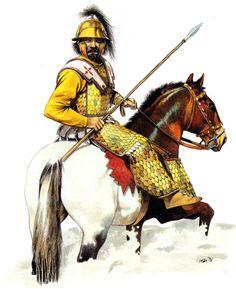 """""""Persian extra-heavy cavalryman, fourth century BC"""""""