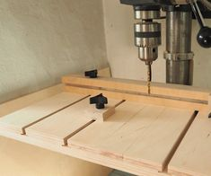 When I think of woodworking jigs, my mind usually goes straight to jigs used for the table saw. But what about the drill press? The drill press has much to offer but... #tablesaw