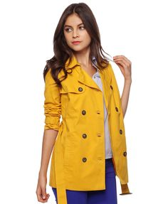 Belted Trench Coat   FOREVER21 - 2015036505