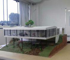 Genious Hour, Arch Model, Glass House, Scale Models, Facade, Architecture Design, Casas Patio, Landscape, Wallpaper