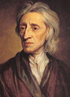 John Locke is op 29 augustus 1632 geboren en op 28 oktober 1704 gestorven. John vond dat alle mensen gelijke rechten moeten hebben. Iedereen is gelijk en vrij. Hij zei dat de natuur geen onderscheid maakt tussen de mensen, hij noemde de rechten die mensen van nature hadden: natuurrechten.