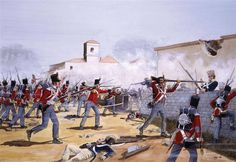 Some of the hardest fighting of 21 June 1813 took place in the small village of Gamarra Mayor, an important post on the French right flank. It was one of the vital river crossings over the Zadorra and was defended by , Reille's Army of Portugal.