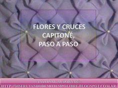 FLORES (MOÑOS) Y CRUCES EN CAPITONE: PASO A PASO - YouTube