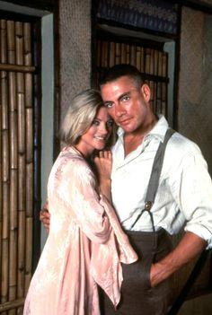 The Quest. Janet Gunn and Jean Claude Van Damme. #josephporrodesigns