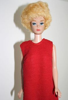 1960s+Midge+Barbie+Doll+with+Red+Dress+by+CharmingShopVintage,+$35.50