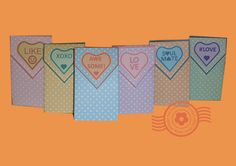 Valentine Gift Bags. Great party favours! http://thepapercraftpost.blogspot.co.uk/2016/01/valentine-gift-bags.html