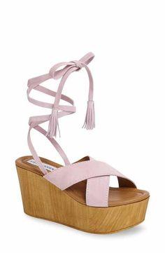Steve Madden Shella Platform Sandal (Women) Wrap Shoes 8fa2abad12