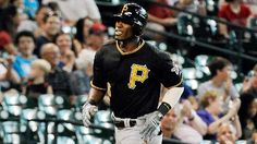 7-26-2012 - Starling Marte goes yard on his first major league pitch.  The 23-year-old righthanded slugger is the 28th player in MLB history to homer on the first pitch he saw as a big leaguer.   Marte goes 2 for 4 in his MLB debut, Burnett goes 7 innings, Bucs win in Houston 5-3.