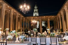 Concepts Event Design, custom high gloss dance floor, linens, chiavari chairs, rentals, chandelier, wedding | She Wanders Photography | Luxe Events | Isari Flower Studio | San Diego Museum of Art | Audra René Studio | Elena T Beauty | Coast Catering | Brightly Designed